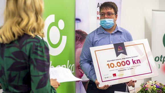 Najbolje je riješio matematiku i osvojio više od 10.000 kuna!
