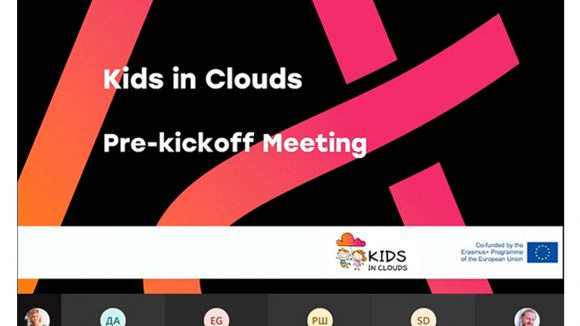 Kids in Clouds – project which aims to introduce cloud-computing to kids