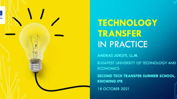TechTransfer Summer School training as part of the KnowING IPR project