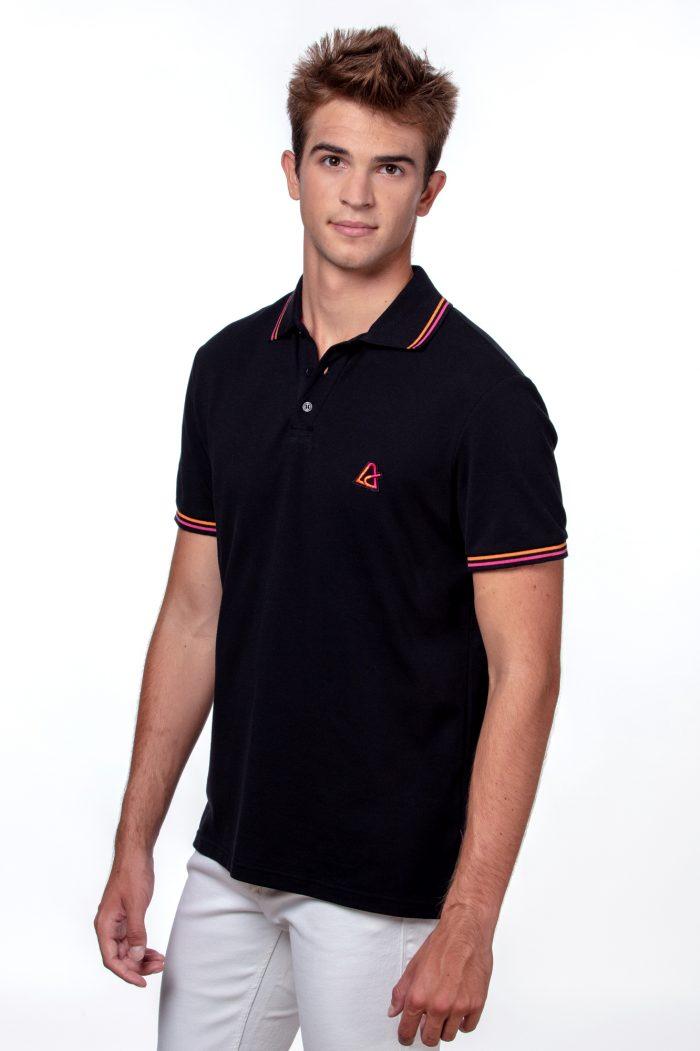 Muška polo majica crna