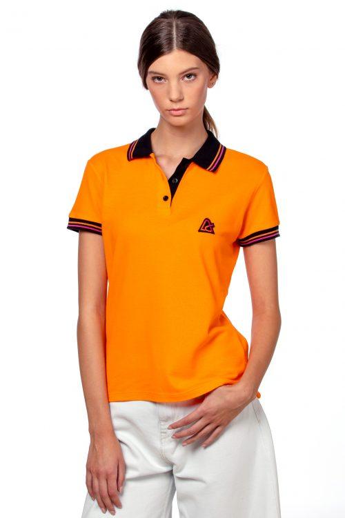 Ženska polo majica narančasta
