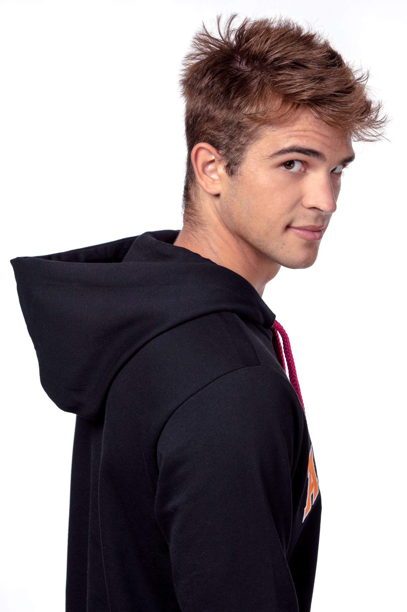 Crna majica s kapuljačom – unisex