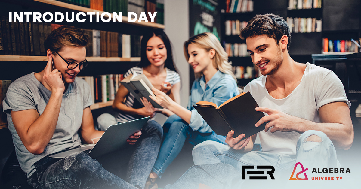 Image for Introduction day for Algebra University and FER University students