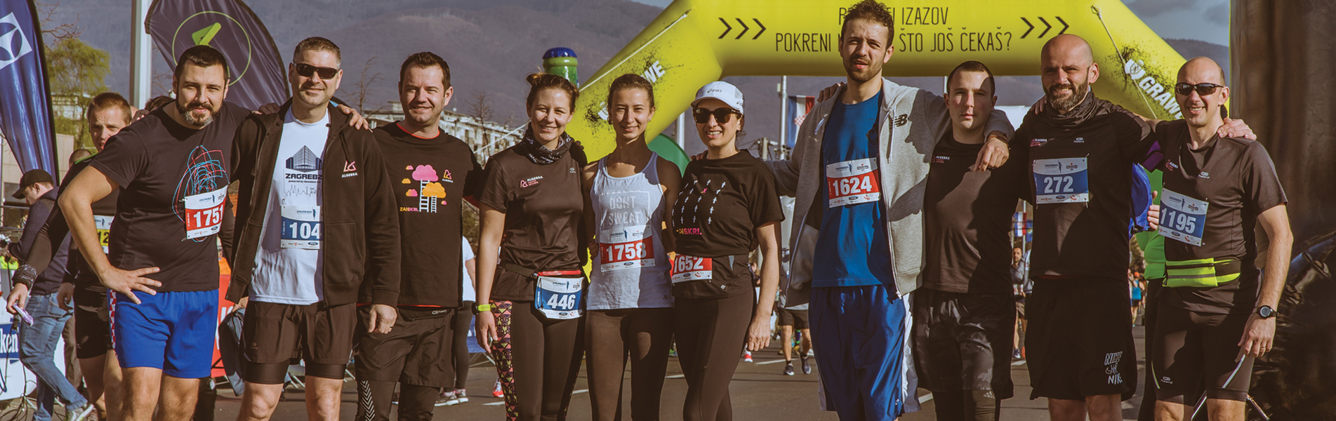 Image for Algebra Running team na utrci ZAGREB21