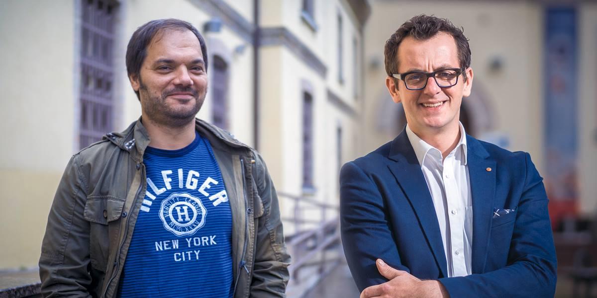 Image for Algebrin duo s predavanjem 'eGlup i eGluplji' očarao publiku na Danima komunikacija