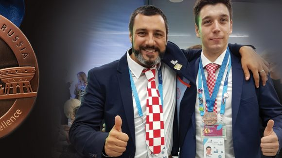 Our student Josip Stanešić won the 12th place in the world at 2019 WorldSkills Kazan