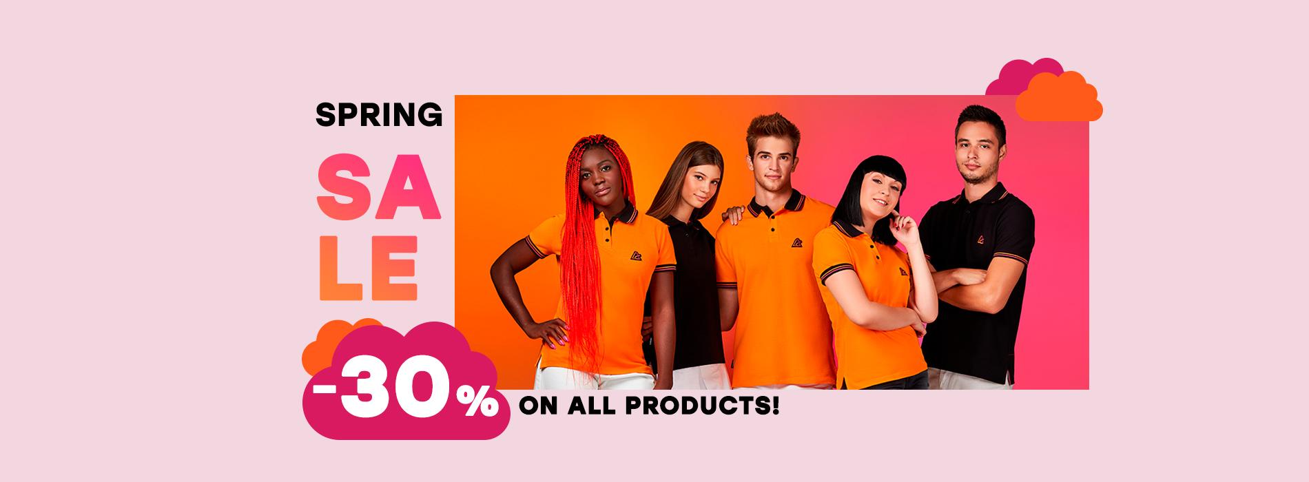 Image for Spring sale on Algebra web shop!