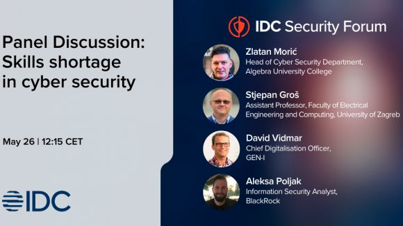 Zlatan Morić – guest speaker on IDC Adriatic Security Forum 2021 conference