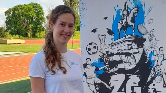 Lucija Urlić won 7th place at the Student Championship in athletics