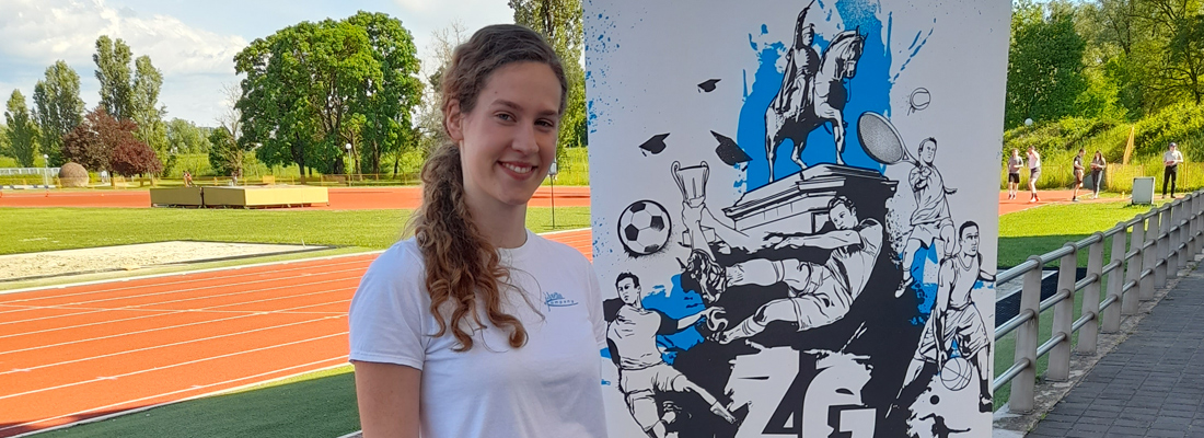 Image for Lucija Urlić won 7th place at the Student Championship in athletics