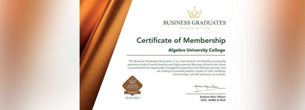 Image for We got into Business Graduates Association!