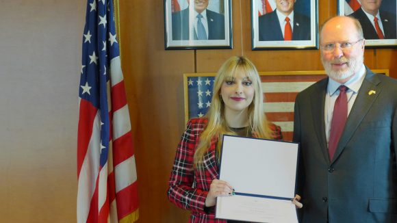 Internship at U.S. Embassy: our student Iva Lemaić gives us the scoop