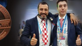 Image for Our student Josip Stanešić won the 12th place in the world at 2019 WorldSkills Kazan